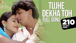 Download Tujhe Dekha Toh - Full Song | Dilwale Dulhania Le Jayenge | Shah Rukh Khan | Kajol Mp3 and Videos