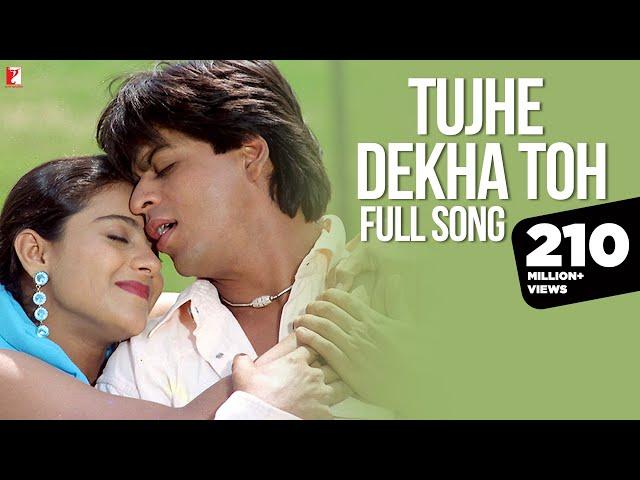 Tujhe Dekha Toh - Full Song   Dilwale Dulhania Le Jayenge   Shah Rukh Khan   Kajol