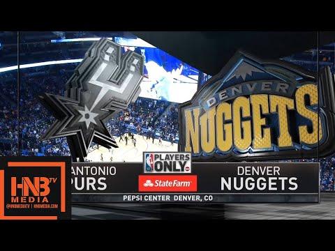 San Antonio Spurs vs Denver Nuggets 1st Half Highlights / Feb 13 / 2017-18 NBA Season