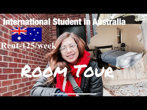 Room tour | International Student in Australia