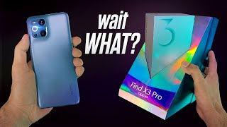 Oppo Find X3 Pro Unboxing - wait WHAT!?