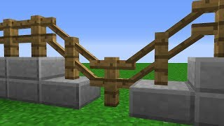 Minecraft   Cursed Images 06 (Diagonal Fences)
