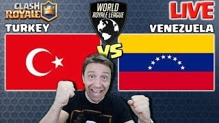 Turkey vs Venezuela | World Royale League S3 | Clash Royale eSports