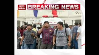 Two youths hurled paper missiles inside the Delhi Assembly House