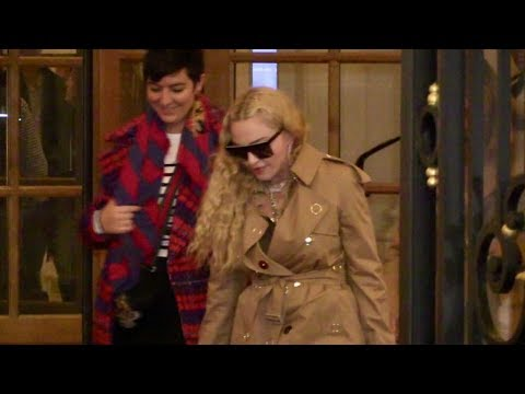 Music Icon Madonna in Paris for the Spring Summer 2019 Fashion Week