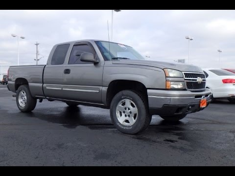 2006 Chevrolet Silverado 1500 LS Extended Cab For Sale ...