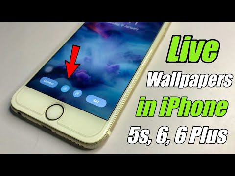 Live Wallpaper in iPhone 6, 6Plus 🔥🔥 How to Set LIVE wallpapers in iPhone 5s, 6, 6Plus || ira'sWorld