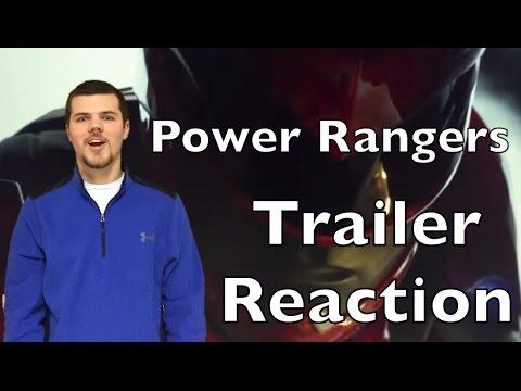 Power Rangers Trailer REACTION - YouTube
