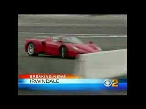 Eddie Griffin Ferrari Enzo Crash Youtube
