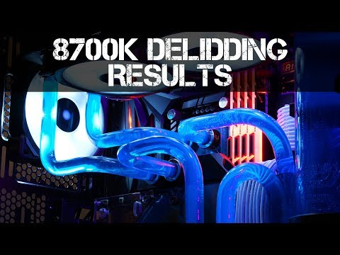 8700K Delid Testing and Results
