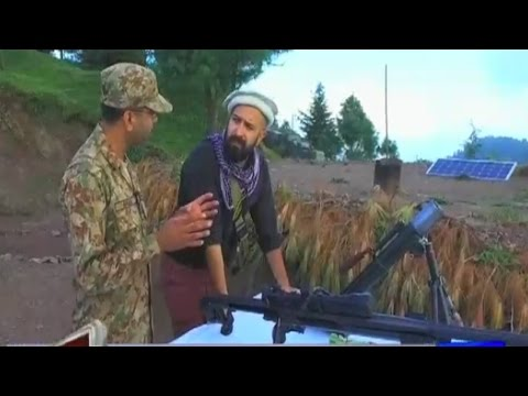Mahaaz 24 September 2016 -  Wajahat S Khan with Pakistan Army at India Pakistan LOC