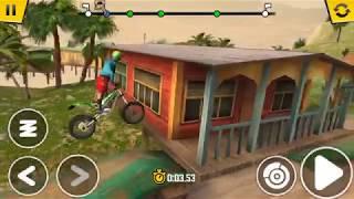 Chơi game đua xe địa hình và cái kết - Play terrain racing game[ trial Xtreme 4 ]