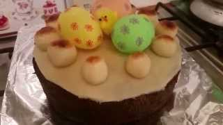 How To Decorate An Easter / Simnel Homemade Cake