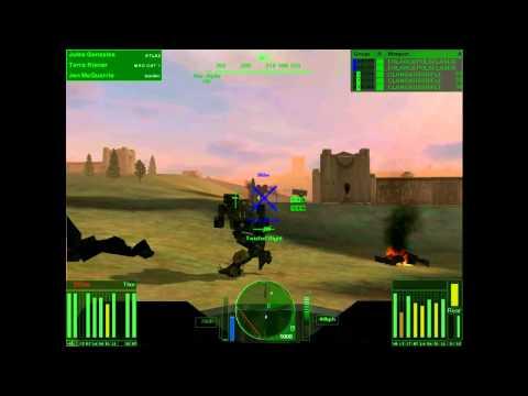 Repeat Mechwarrior 4 Mercenaries online (team battle) by