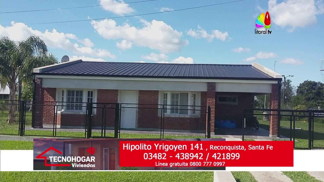 Tecnohogar viviendas 1 12 16 youtube for Viviendas industrializadas precios