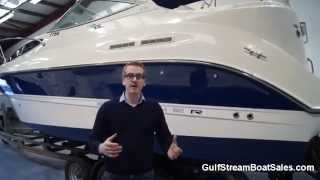 Bayliner 275 Diesel For Sale UK and Ireland -- Review and Water Test by GulfStream Boat Sales