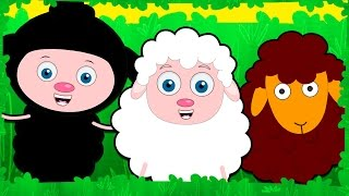 Baa Baa Black Sheep | Nursery Rhymes Collection | Kids Songs by Teehee Town