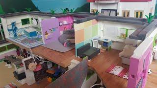💛Playmobil Luxusvilla Haus und Herbstroomtour// Playmospezial//Familie Sonnenschein