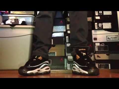 Reebok answer 1 retro DMX 10 2013 on feet!!!! - YouTube