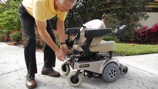 Jazzy 1113 ATS Power Chair (Take Apart Power Chair)
