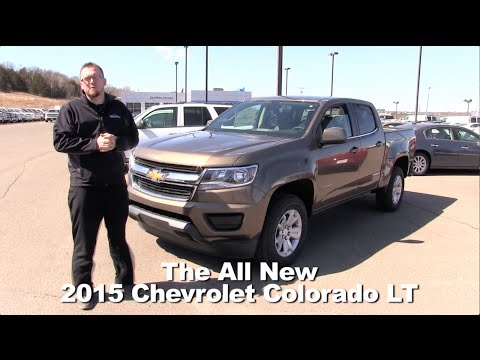Review: The All New 2015 Chevrolet Colorado LT Minneapolis, St Cloud, Cold Spring, Willmar, MN