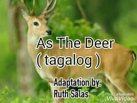 As the Deer (tagalog)