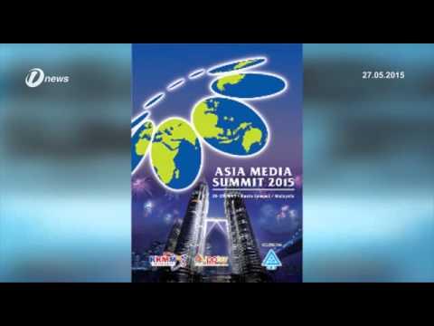 Asia Media Summit 2015 Kuala Lumpur; Social Media Powerful Tool For Journalists