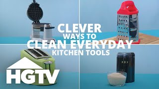 How to Clean Kitchen Tools - Easy Does It - HGTV