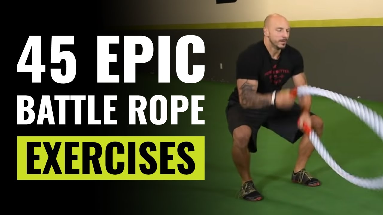 """Exercise /& Undulation Rope CrossFit Rope 1-1//2/"""" x 40/' PolyDac CrossFit"""