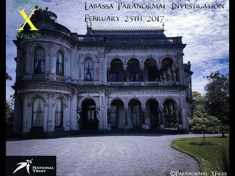 NATIONAL TRUST OF VICTORIA PARANORMAL INVESTIGATION TOUR: LABASSA 2017