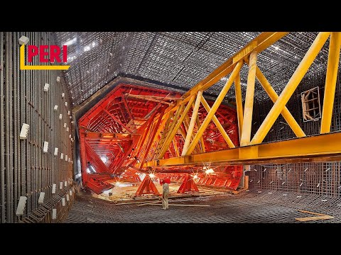"""PERI   Construction of the Tunnel Hongkong-Zhuhai-Macao Bridge (HZMB) - Episode 1 """"The Challenges"""""""