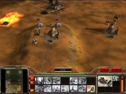 Nükleer Bombalar Command & Conquer Zero Hour general gecek savas 1 vs 2