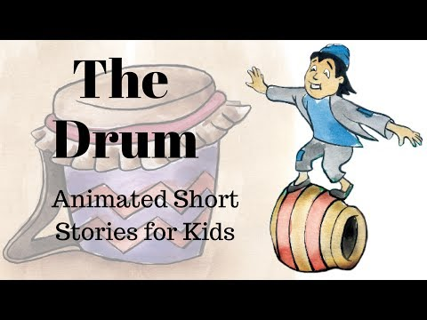 The Drum: A Folktale From India Animated Stories for Kids