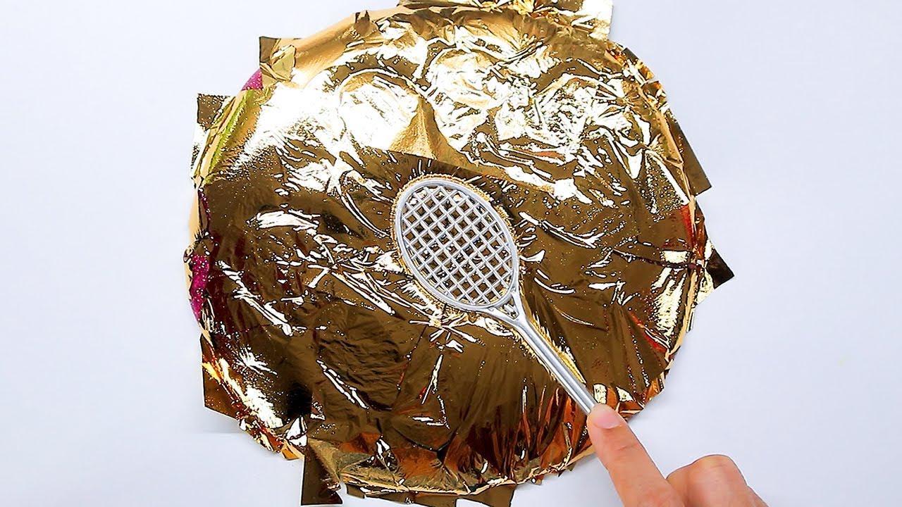 【ASMR】金箔スライム!! Gold Leaf Slime ASMR No Talking【音フェチ】