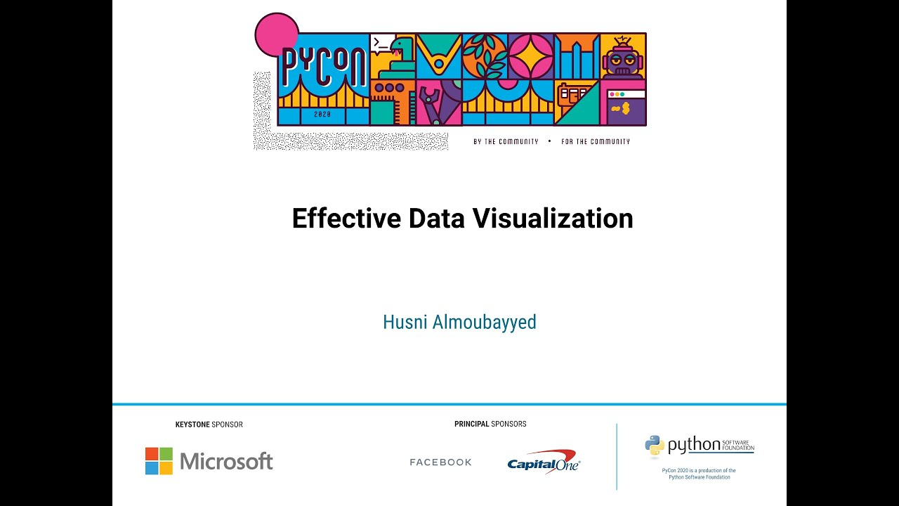Image from Effective Data Visualization