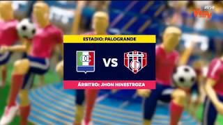 Once Caldas vs Union Magdalena (Goles y highlights) Liga Aguila 2019-II | Fecha 20