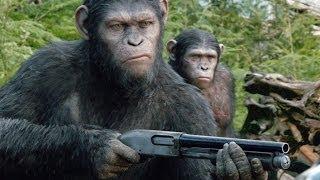 Планета обезьян: Революция смотреть онлайн третий трейлер