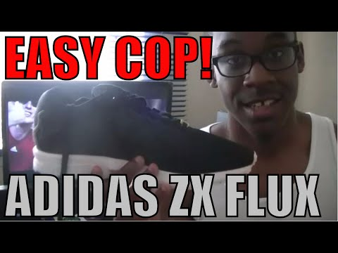 FIRST SNEAKER UNBOXING! Adidas ZX Flux!