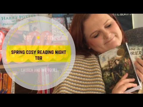 Spring Cosy Reading Night TBR | Lauren and the Books