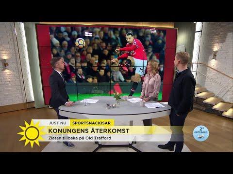 """Konungens återkomst – """"det var skadan som återhämtade sig från Zlatan"""" - Nyhetsmorgon (TV4"""