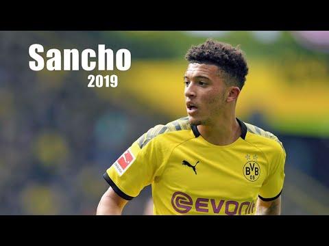 Jadon Sancho Highlights | Goals, Assists, And Skills
