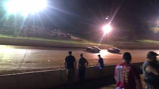 Great Street Stock racing at Tazzwell Speedway 7-14-2018
