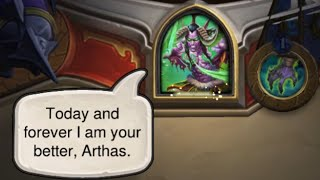 All Illidan interactions with other Heroes - Hearthstone