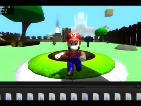 how to make a mario game in unity