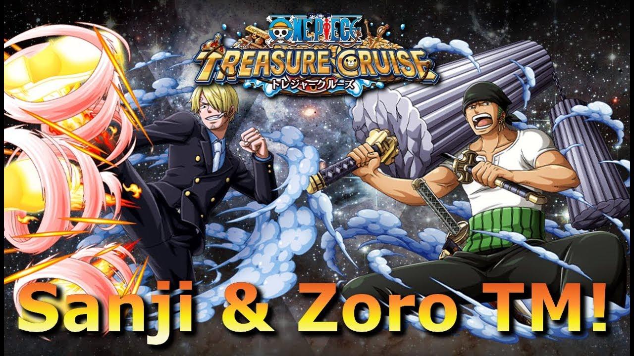 Sanji & Zoro Treasure Map! ☆ One Piece Treasure Cruise ...