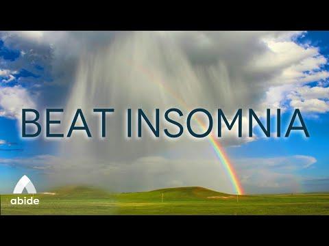 8 Hours Psalm 51 Prayers & Promises + Gentle Night Rain | Relaxing Sleep, Beat Insomnia, Worry, PTSD
