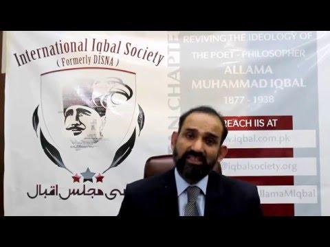 Understanding Allama Iqbal Series - Introduction By Dr. Tahir Hamid Tanoli