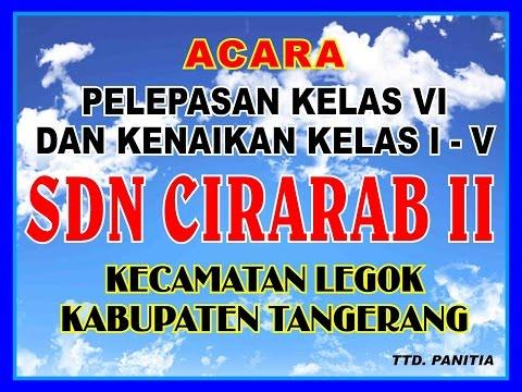 PATURAY TINEUNG SDN CIRARAB II 2015