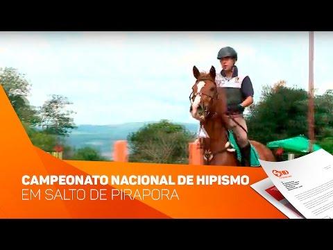 Campeonato nacional de hipismo em Salto de Pirapora - TV SOROCABA/SBT