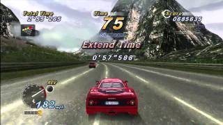 Outrun Online Arcade - HD Cap Demo Run